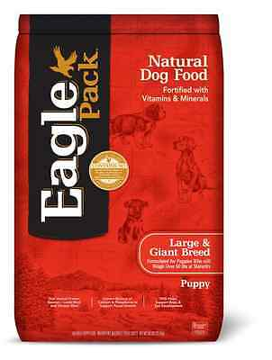 Eagle Pack Natural Dry Large Breed Puppy Food, Lamb, Chicken & Fish, 30-Pound Ba