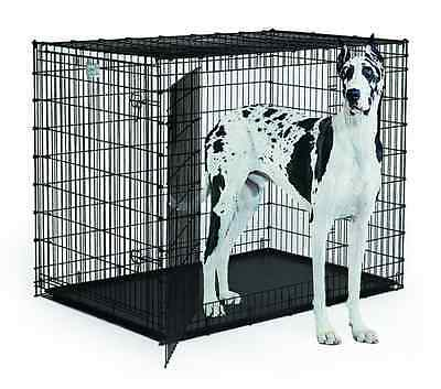 "MidWest Homes for Pets Solutions Series 54"" Double Door"
