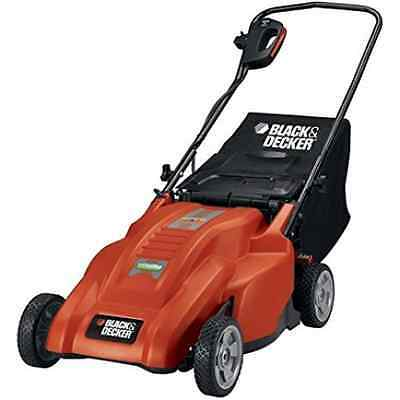 BLACK + DECKER MM1800 18-Inch, 12 Amp Corded Electric Lawn Mower