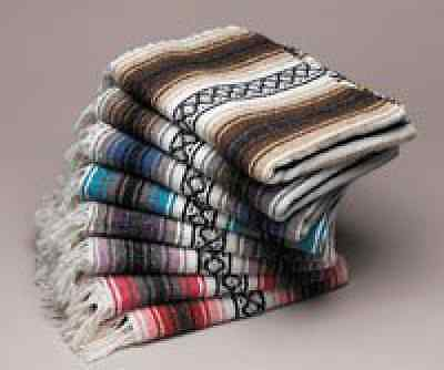 Yogavni Yogavni-Mex-Blanket-Assorted Deluxe-Extra Thick and Soft Mexican Yoga Bl