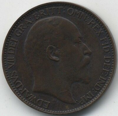 1902 Edward VII Farthing***Collectors***