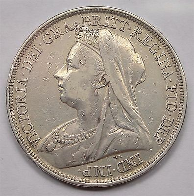 1897 Crown  Lxi  Victoria  #155-427