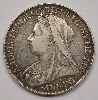 1898 Crown  Lxii  Victoria  #155-433