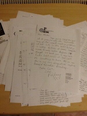 Manic Street Preachers-Richey 8 Pages Of Letters+55 Press Sheets-1991-2014+Photo