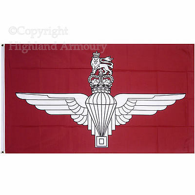 5' x 3' FLAG Parachute Regiment Paras British Army Military Armed Forces ft New