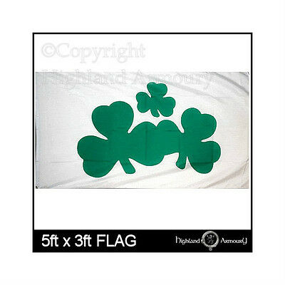 5' x 3' FLAG Shamrock Ireland Irish Eire Celtic Flags