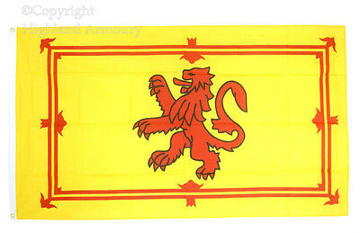 8 x 5 FT FLAG Scottish Lion Rampant Scotland Large Flags New 240 x 150cm New '