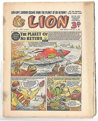 Lion 207 (4th Feb 1956, high grade copy) Captain Condor by Frank Pepper
