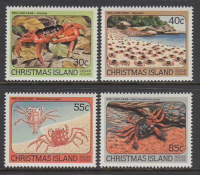 Christmas Island 1984 Red Land Crabs