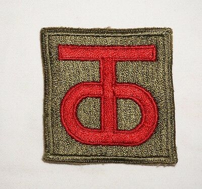 90th Infantry Division Patch WWII US Army P2262