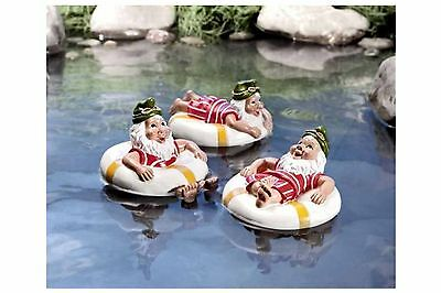 Swimming decoration Gnomes Set Of 3 for Garden pond Pond decoration WORLD IMAGE