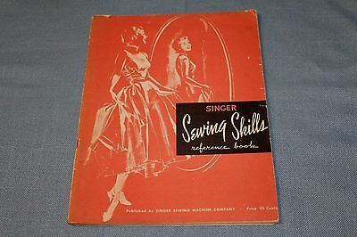1955 Sewing Skills Reference book Excellent vintage condition