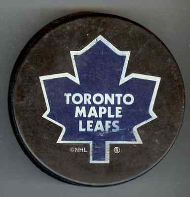 Molson Export/Toronto Maple Leafs Hockey Puck - used - Made in Canada