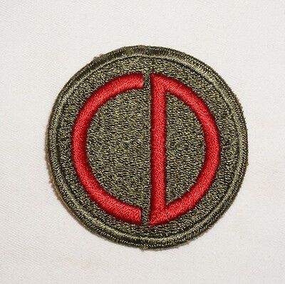 85th Infantry Division Patch WWII US Army P2296