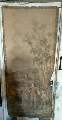 Antique French tapestries
