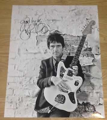 Authentic Signed Johnny Marr Huge 16 X 12 Photo....real Signature...coa