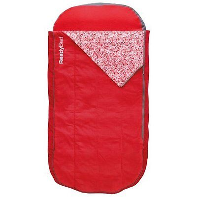 ReadyBed Deluxe Airbed and Sleeping Bag In One, Junior
