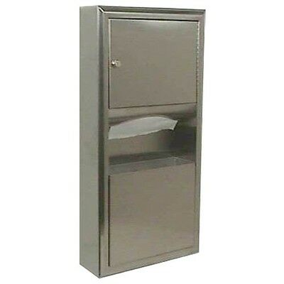 Bobrick - B-3699 - Surface-Mount Paper Towel Dispenser & Waste Receptacle