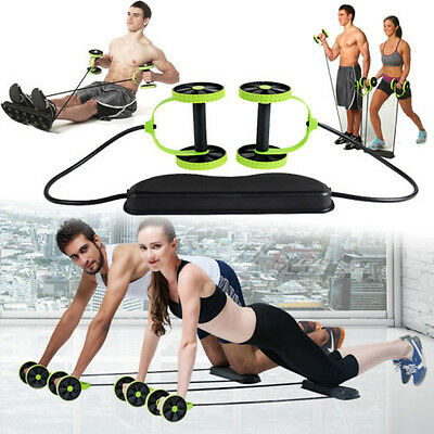 Home Core Gym Abs Equipment Exercise Body Abdominal Training Workout Machine AU