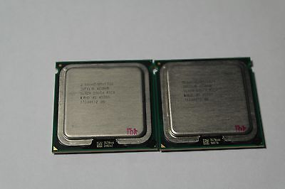 Matched Pair of Intel Xeon X5355 2.66 GHz Quad-Core SLAC4 Processor w/Grease