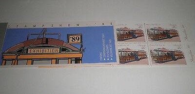 "Australia 1989 ""stamp Show 89"" Mnh** Booklet (Cat.8)"