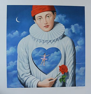 "Rafal Olbinski ""EXPLICIT INTROSPECTION"" Signed Numbered Lithograph with a COA"