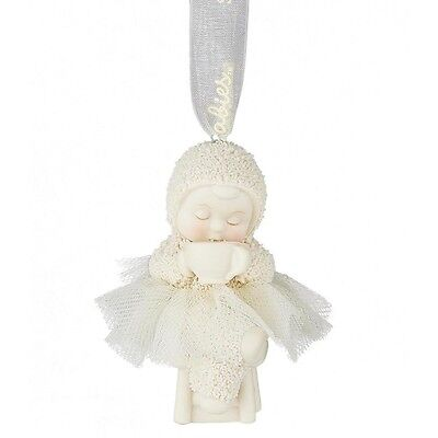 SNOWBABIES Coffee First Hanging Ornament  Gift Boxed # 4051911 NEW 2016