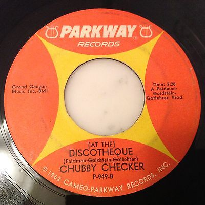 Chubby Checker-(At The) Discoteque-Parkway P-949. Vg+