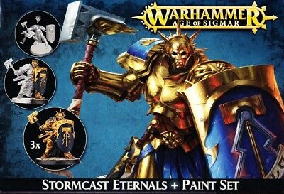 Age of Sigmar Stormcast Eternals Paint Set from Citadel Colours Tabletop GW
