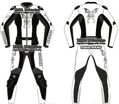 Motorbike Motorcycle Leather racing 1 & 2 piece woman Suit tailor made