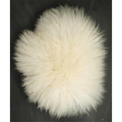 Handschuh Lammfell Massage Streichel Pelz Lamb Fur Glove Wellness Nature Weiss