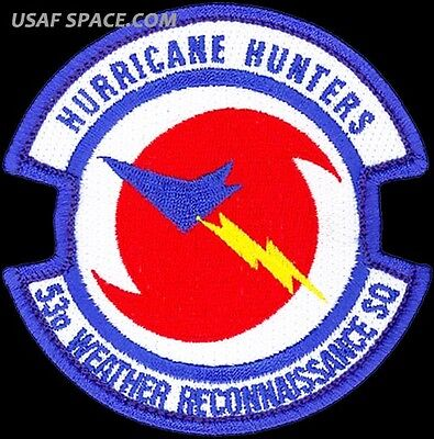 USAF 53rd WEATHER RECONNAISSANCE SQUADRON - HURRICANE HUNTERS - ORIGINAL PATCH