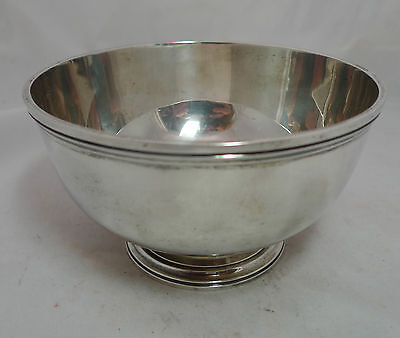 Asprey Silver Bowl London 1959 331g