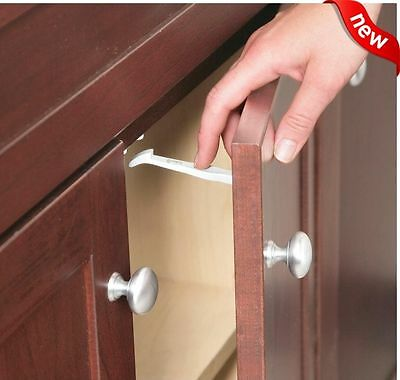 14 PIECE Safety 1st Baby Cabinet Locks Wide Grip Latches Child Kids Door Drawer