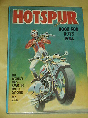 THE HOTSPUR BOOK FOR BOYS ANNUAL (1984) Great Condition