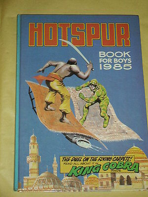 THE HOTSPUR BOOK FOR BOYS ANNUAL (1985) Great Condition