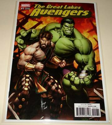 GREAT LAKES AVENGERS  # 1  Marvel Comic  Dec 2016  NM  VARIANT COVER EDITION