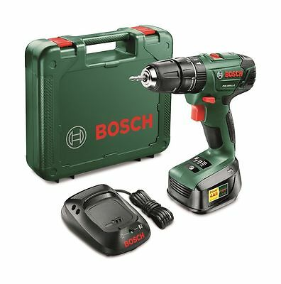 Bosch 18V 1.5Ah Lithium-Ion Cordless Drill, Battery, Charger &Case PSB 1800 LI-2