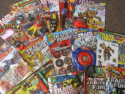 TRANSFORMERS (2010/11) V2 #8-21 + Free Gifts! UK Exclusive Stories! LOT OF 14!