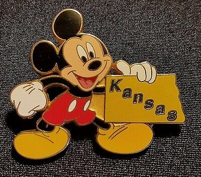 RETIRED 2002 DISNEY STORE 12 MONTHS OF MAGIC MICKEY STATE SERIES NEW YORK PIN