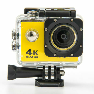 Sports Ultra HD 4K 1080p 16MP WiFi 170° Waterproof Action Camera - AU Stock