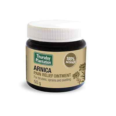 New THURSDAY PLANTATION Arnica Pain Relief Ointment 50g