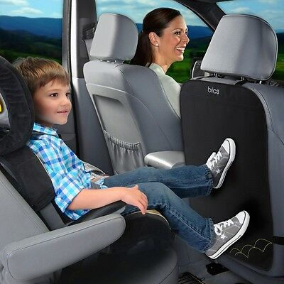 NEW Brica Car Auto Baby Seat Back Protector Cover Children Kick Mat #`64014