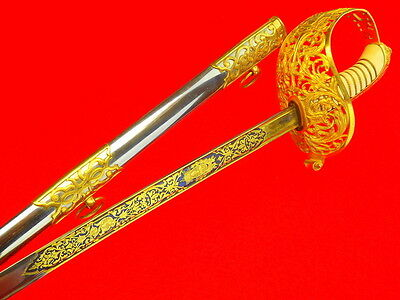 Spectacular 19th C. to WW I Argentina Officer's Presentation Grade Sword WOW !!!