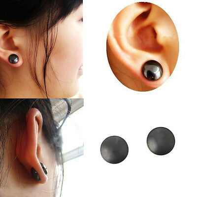 2Pc Earrings Stimulating Acupoints Magnetic Therapy Earrings For Weight Loss New