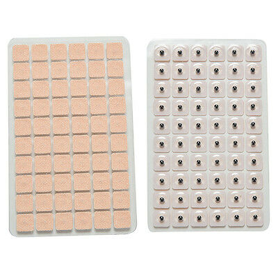 600pcs Disposable Ear Press Seeds Acupuncture Vaccaria Plaster Bean Massage HU