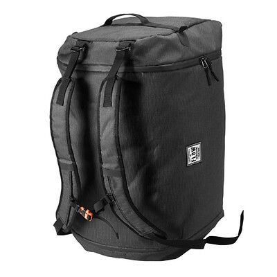 Flow Runaway 90L Duffle Style Bag Black Removable Backpack Straps Snowboard Ski