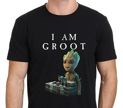I Am Groot, Baby Groot Gurdian of The Galaxy 2 Funny T-Shirt Size: S-to-XXL