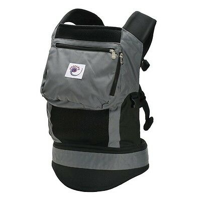 B-Ware Ergobaby Bauchtrage Carrier EBC-BCP02500 Performance charcoal black