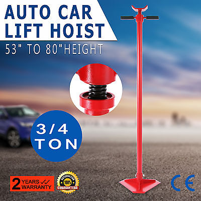 3/4 Ton Auto Lift Car Jack Under Hoist Stand Manual Truck Vehicle Support Load